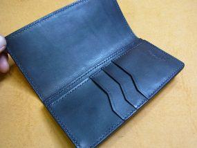 薄い革財布
