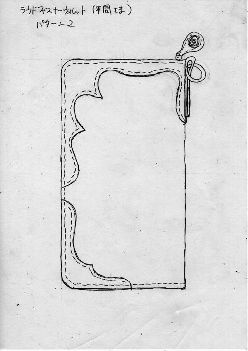 革財布デザイン