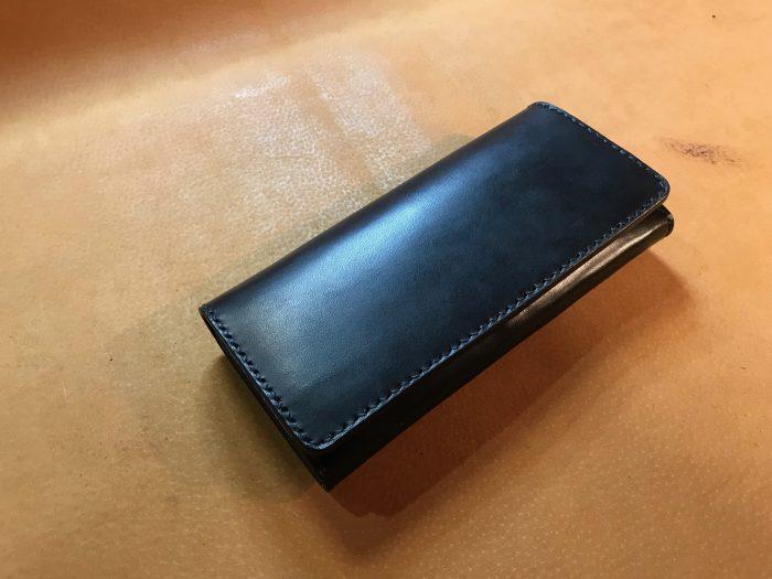 がま口革財布