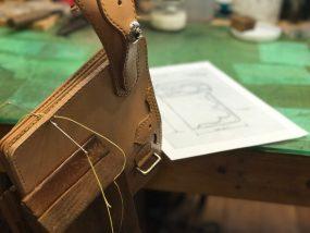 ハントメイド手縫い