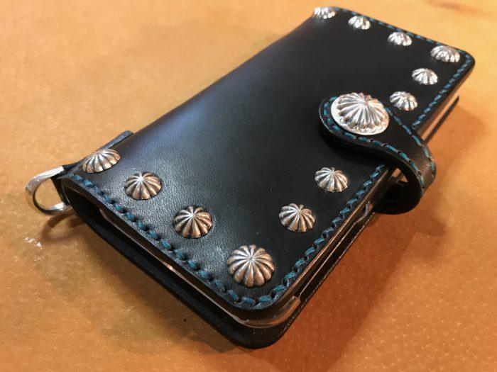 革製iphoneカバー