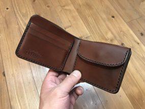 財布 革 二つ折