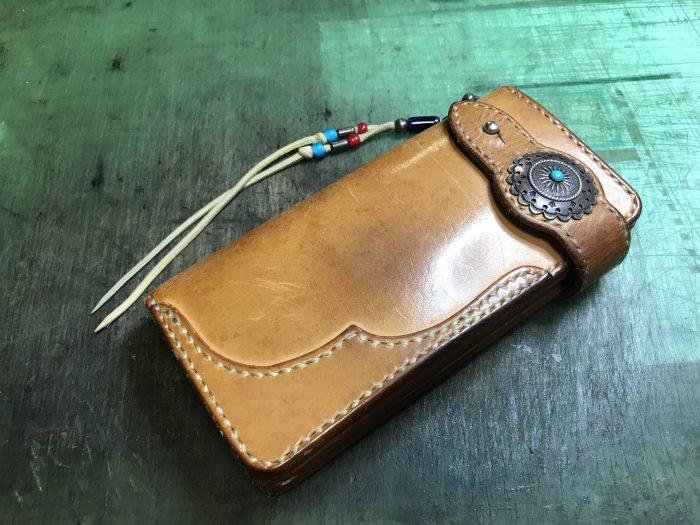 革財布メンテナンス